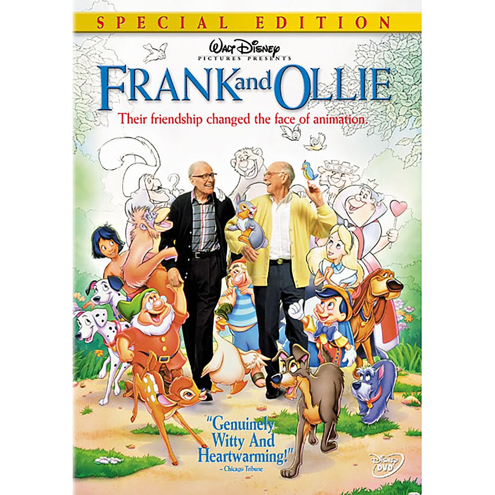 Frank and Ollie DVD Official shopDisney