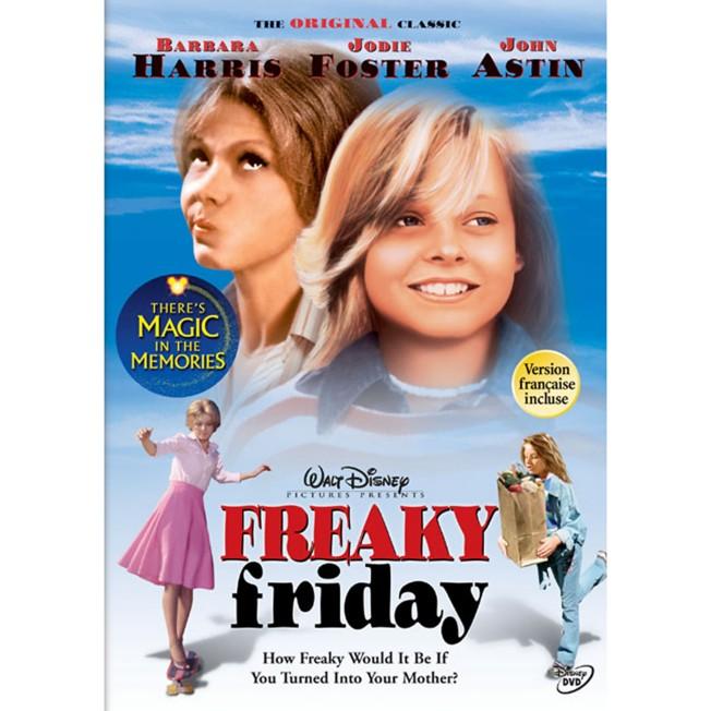 Freaky Friday (1976) DVD