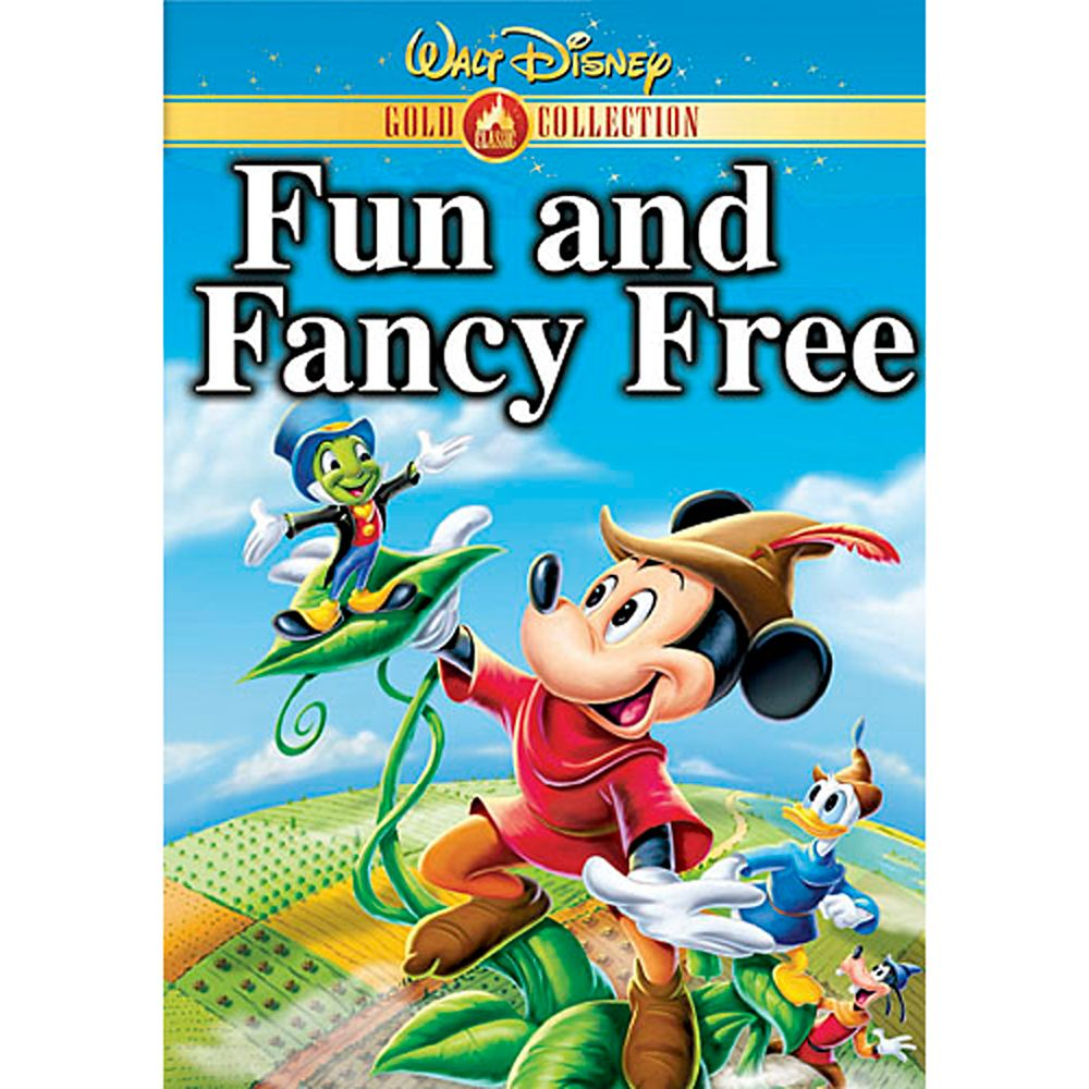 Fun and Fancy Free DVD