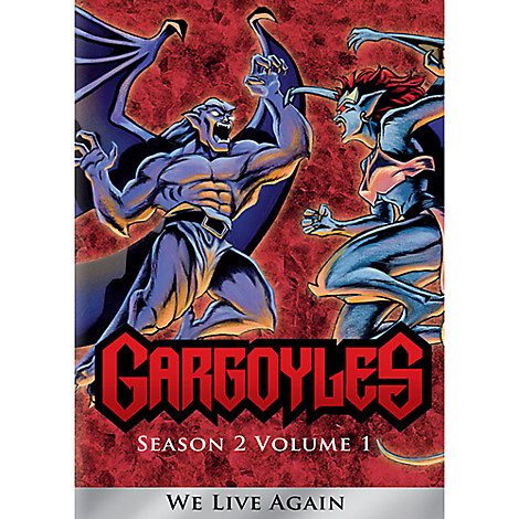 Gargoyles Season 2, Volume 1: We Live Again DVD