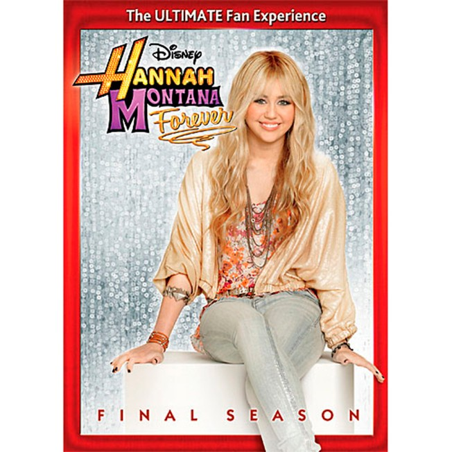Hannah Montana Forever: The Final Season DVD