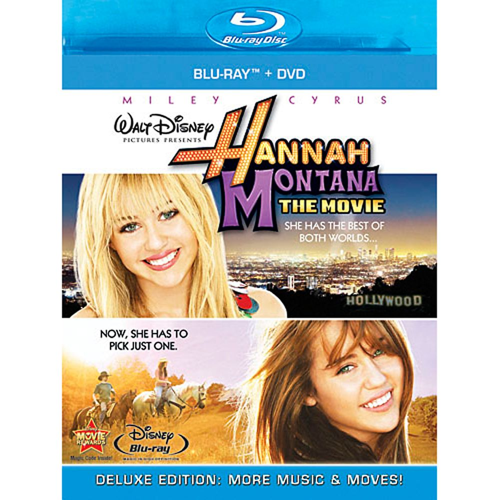 Hannah Montana: The Movie – Blu-ray + DVD Combo Pack