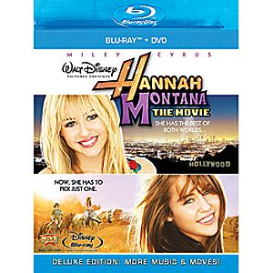 Hannah Montana: The Movie - Blu-ray + DVD Combo Pack 7745055550264P