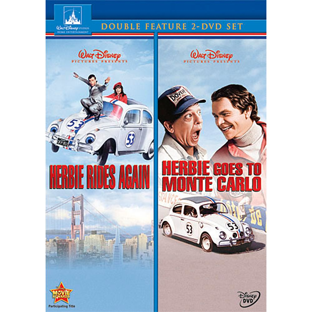 Herbie Rides Again and Herbie Goes to Monte Carlo DVD – 2 Movie Collection