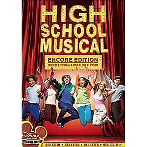 High School Musical DVD 7745055550275P