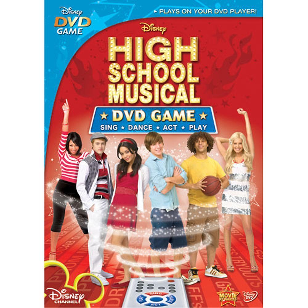 High School Musical: The Game DVD Official shopDisney