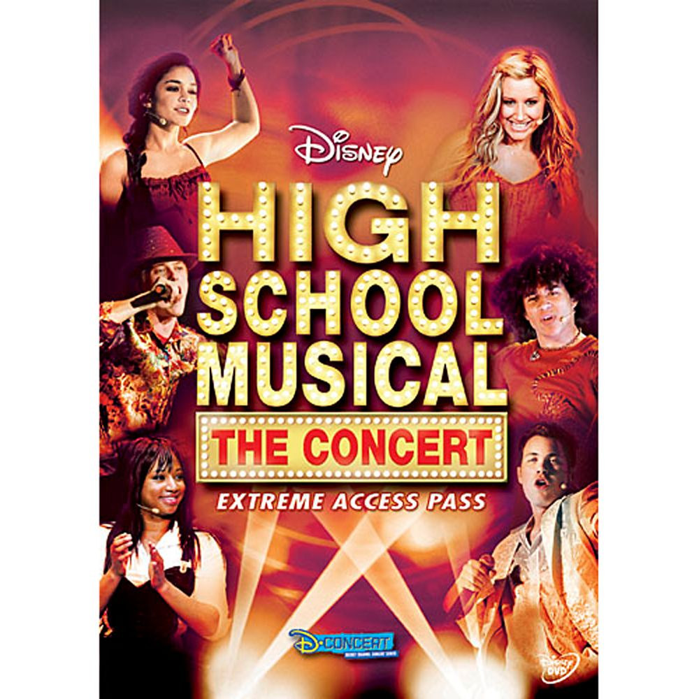 High School Musical: The Concert – Extreme Access Pass DVD