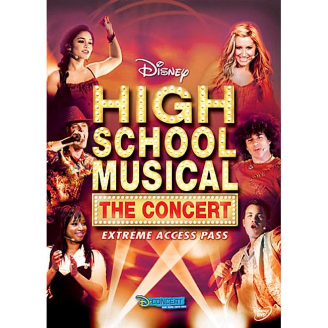 High School Musical: The Concert – Extreme Access Pass DVD