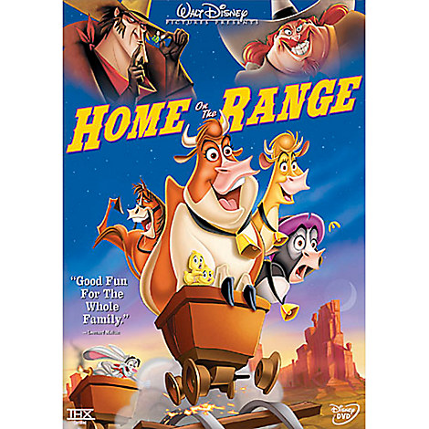 Home on the Range DVD