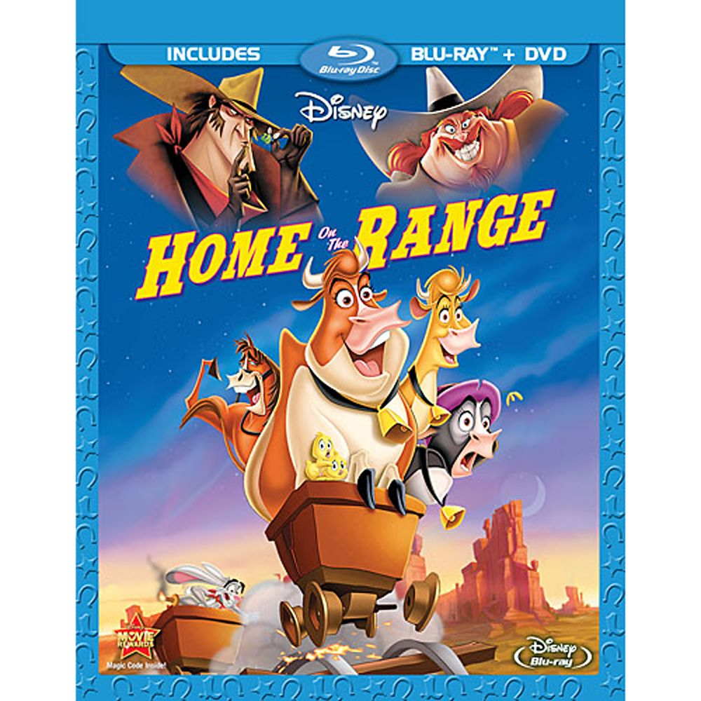 Home on the Range  2-Disc Combo Pack Official shopDisney