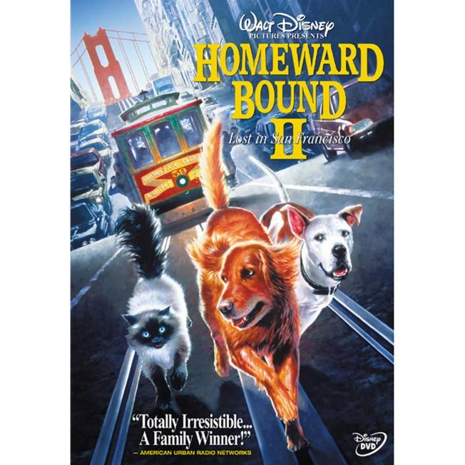 Homeward Bound 2: Lost in San Francisco DVD