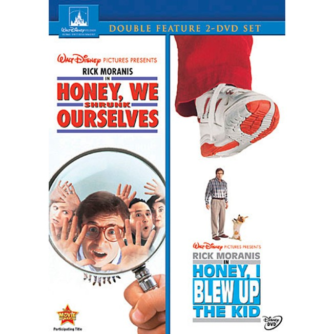 Honey We Shrunk Ourselves and Honey I Blew Up the Kid Collection DVD