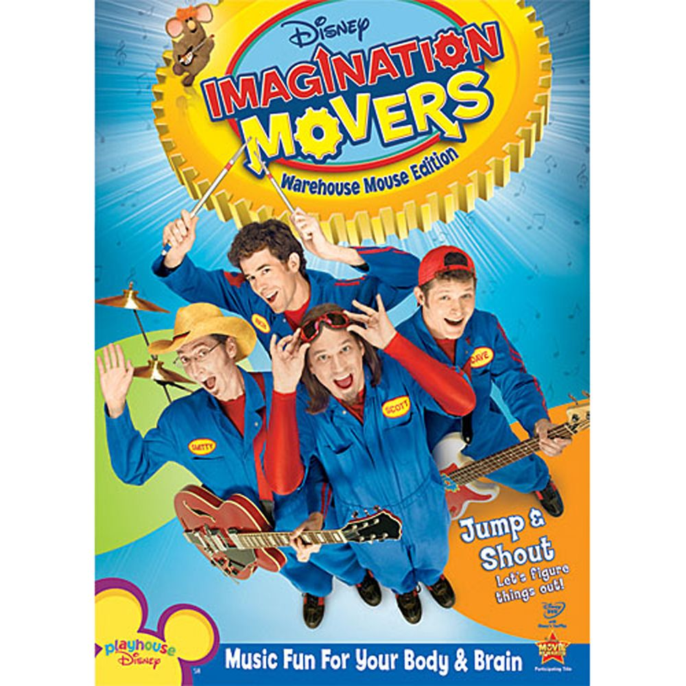 Imagination Movers: Warehouse Mouse Edition DVD Official shopDisney