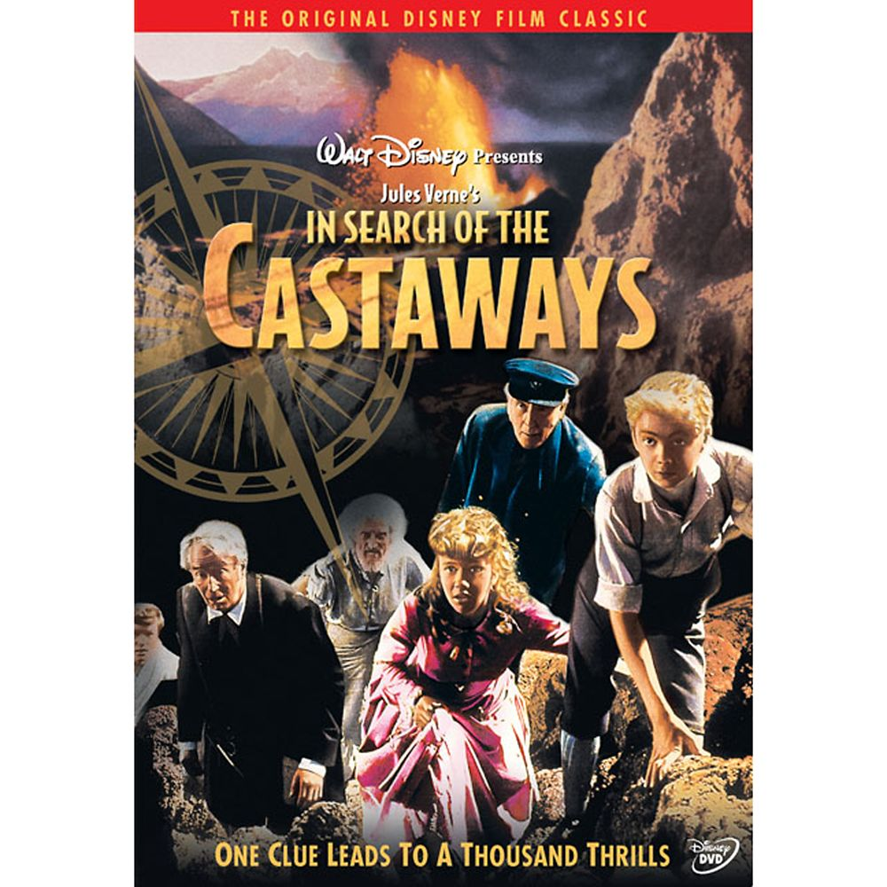 In Search of the Castaways DVD Official shopDisney