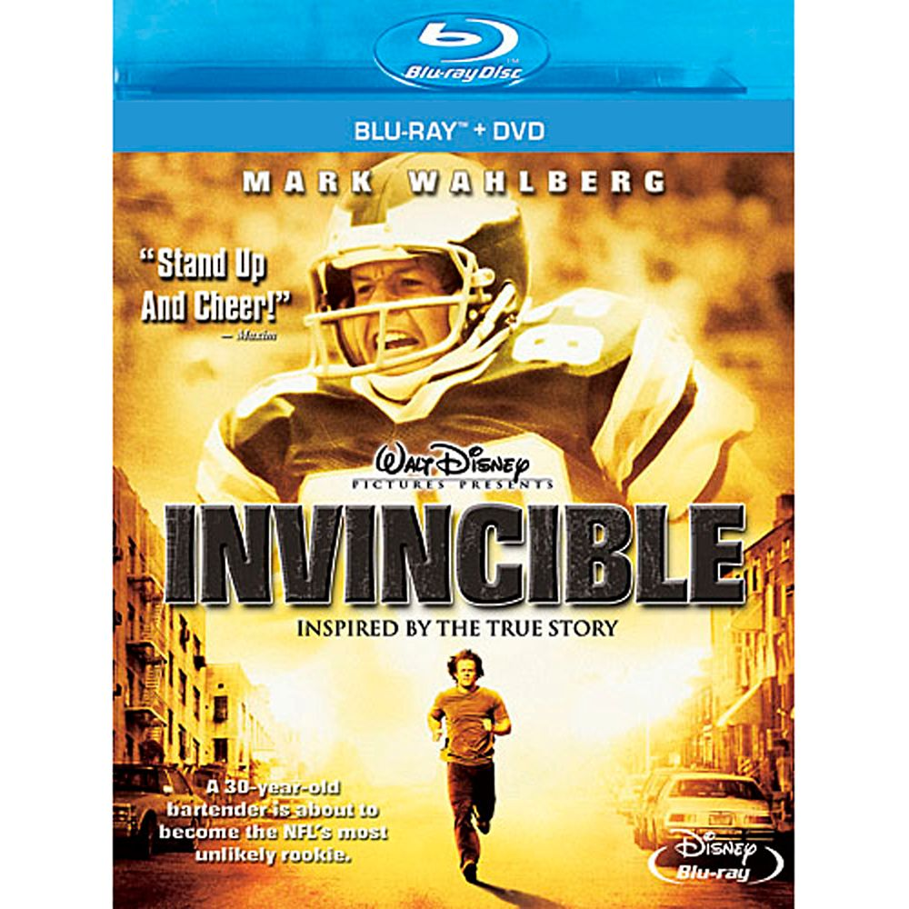 Invincible – Blu-ray + DVD Combo Pack