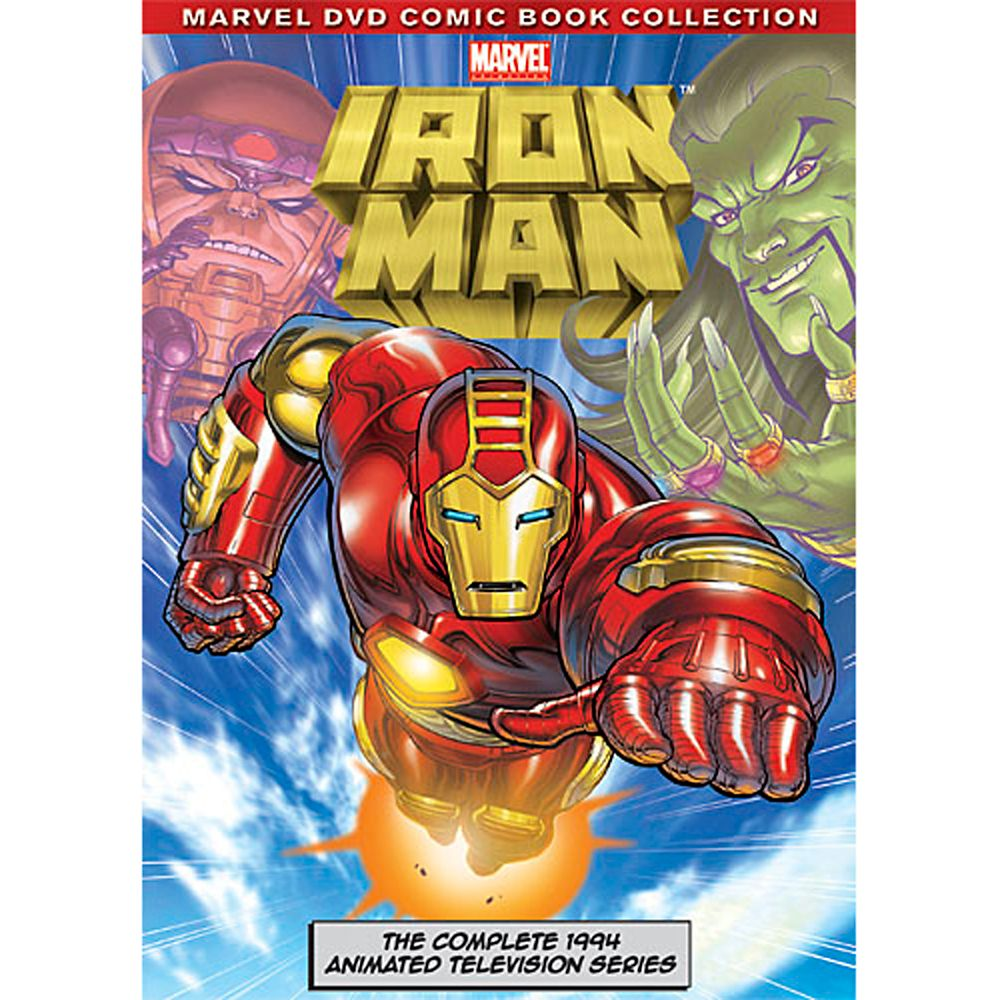 Iron Man: The Complete Animated Series DVD Official shopDisney