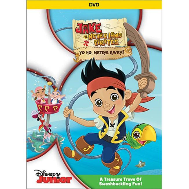Jake and the Never Land Pirates: Yo Ho, Mateys Away! DVD