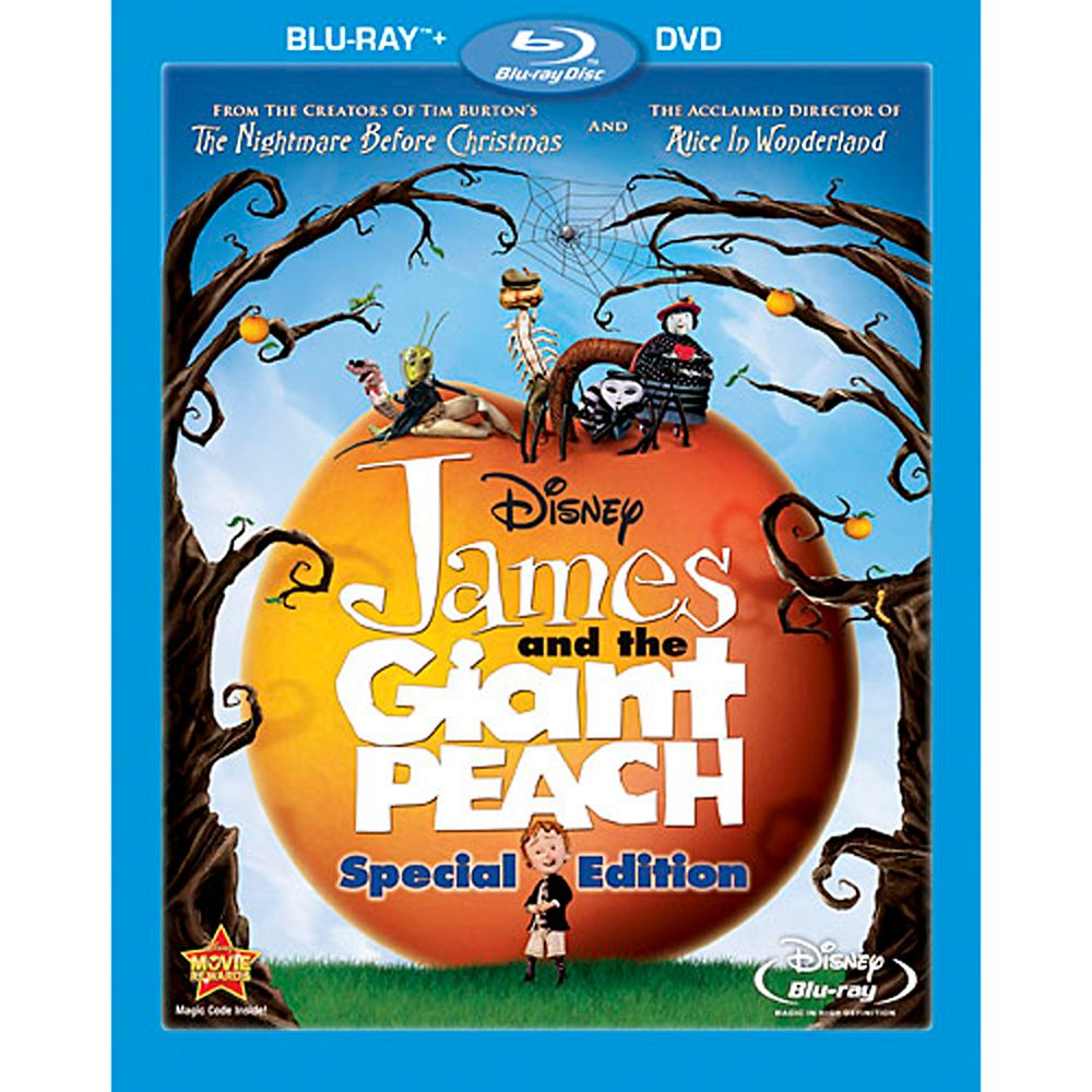 James and the Giant Peach – 2-Disc Combo Pack
