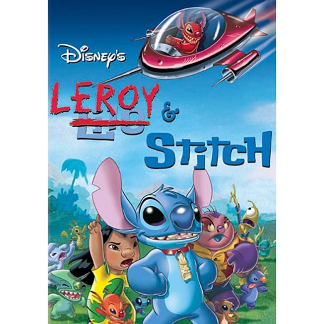 Leroy and Stitch DVD