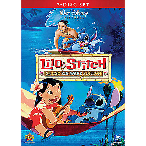 Lilo & Stitch DVD