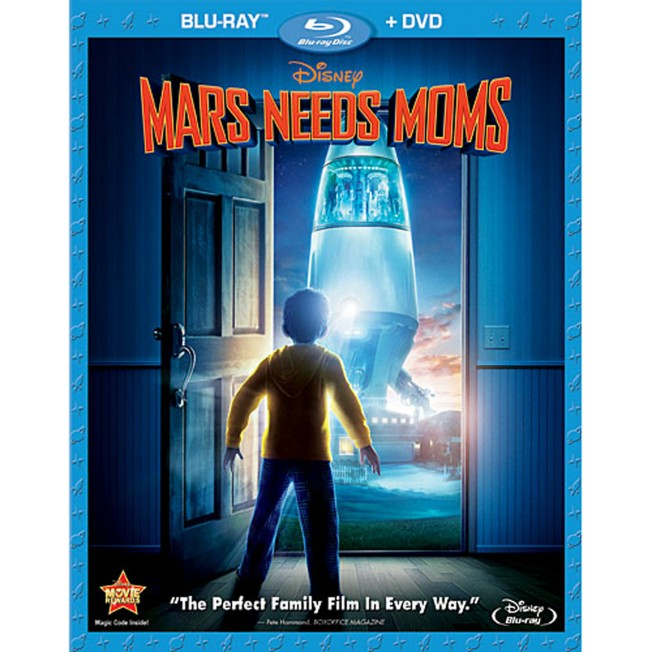 Mars Needs Moms – 2-Disc Combo Pack