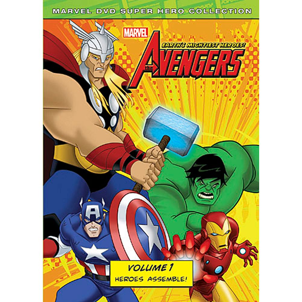 Marvel's The Avengers: Heroes Assemble Volume 1 DVD Official shopDisney