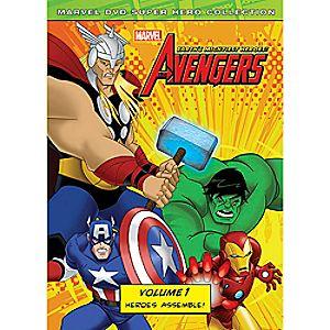 Marvel's The Avengers: Heroes Assemble Volume 1 DVD