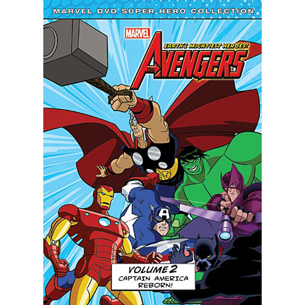 Marvel's The Avengers: Captain America Reborn Volume 2 DVD