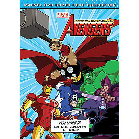 Marvel's The Avengers: Captain America Reborn Volume 2 DVD