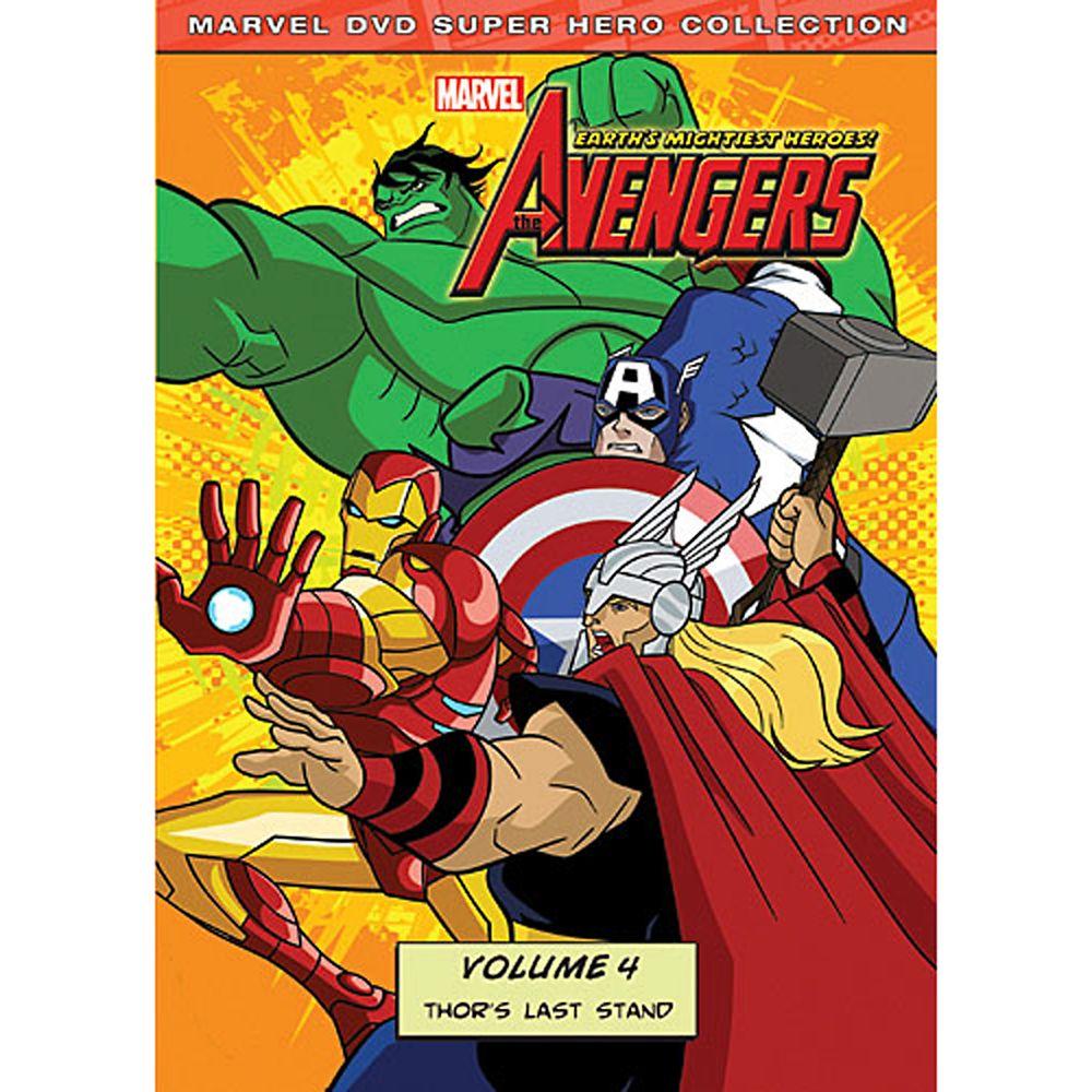 Marvel's the Avengers: Thor's Last Stand Volume 4 DVD Official shopDisney