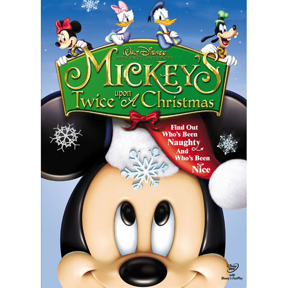 Mickey's Twice Upon a Christmas DVD Official shopDisney