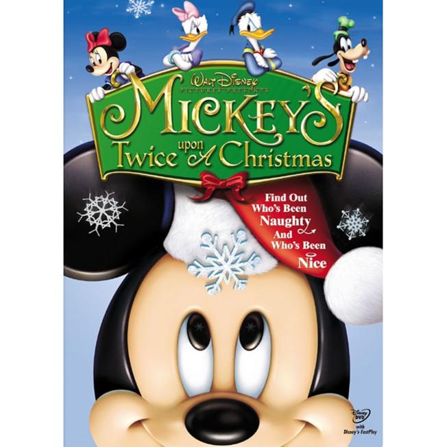 Mickey's Twice Upon a Christmas DVD