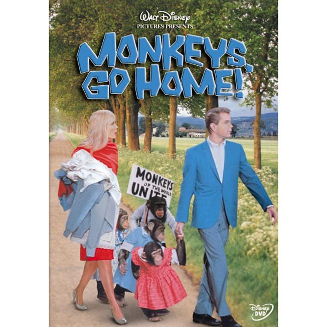 Monkeys, Go Home! DVD