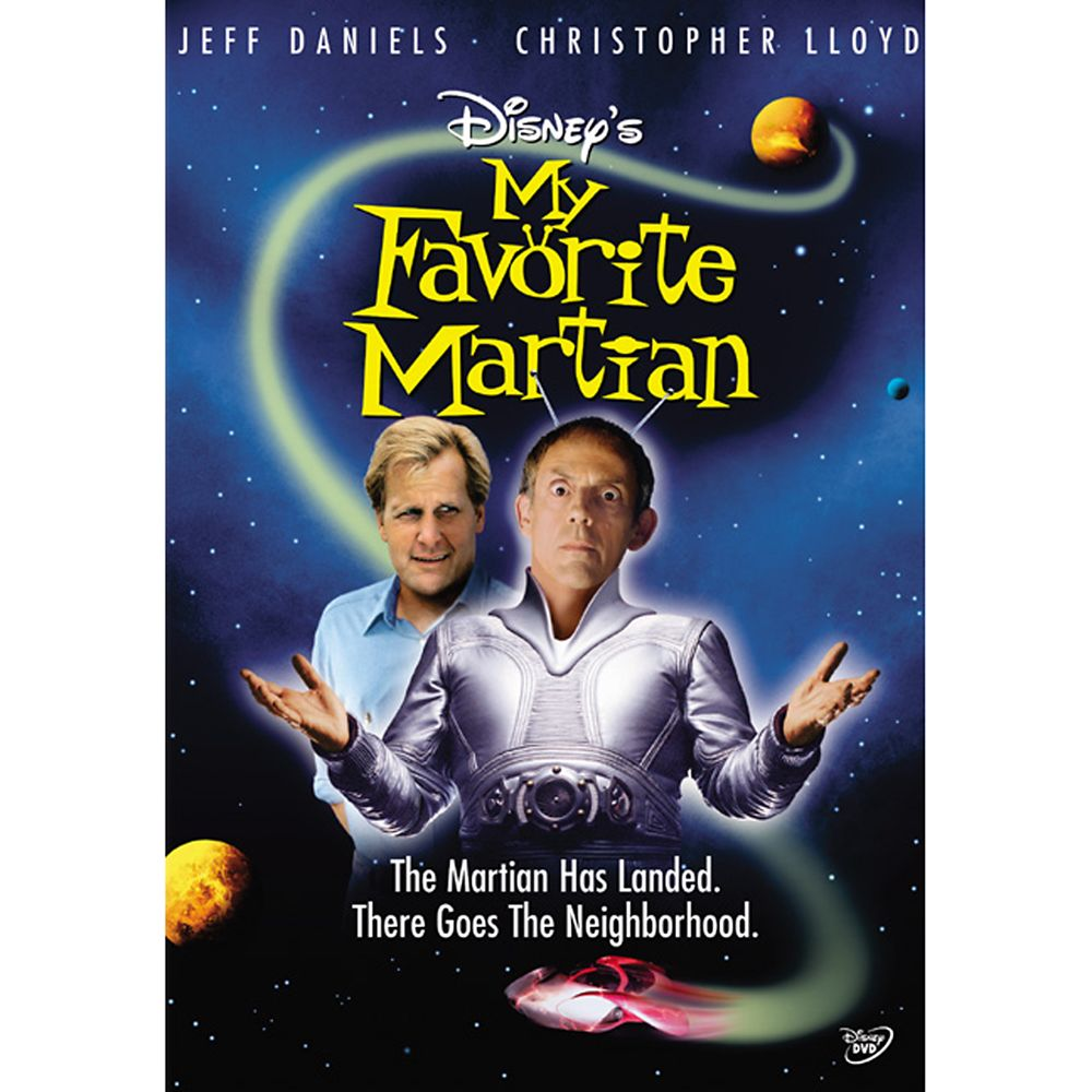 My Favorite Martian DVD
