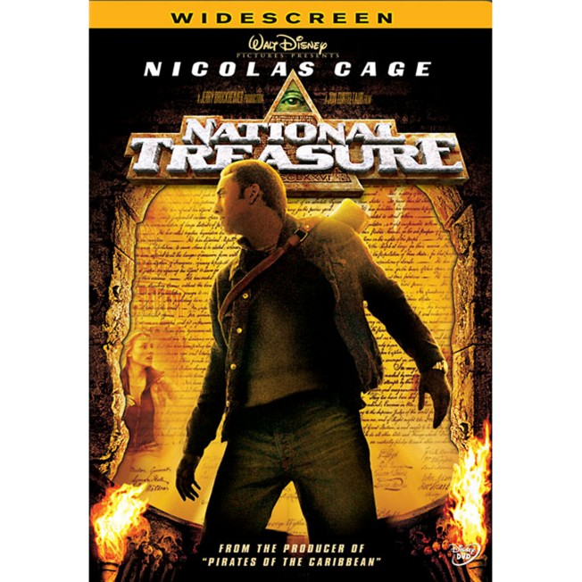 National Treasure DVD – Widescreen