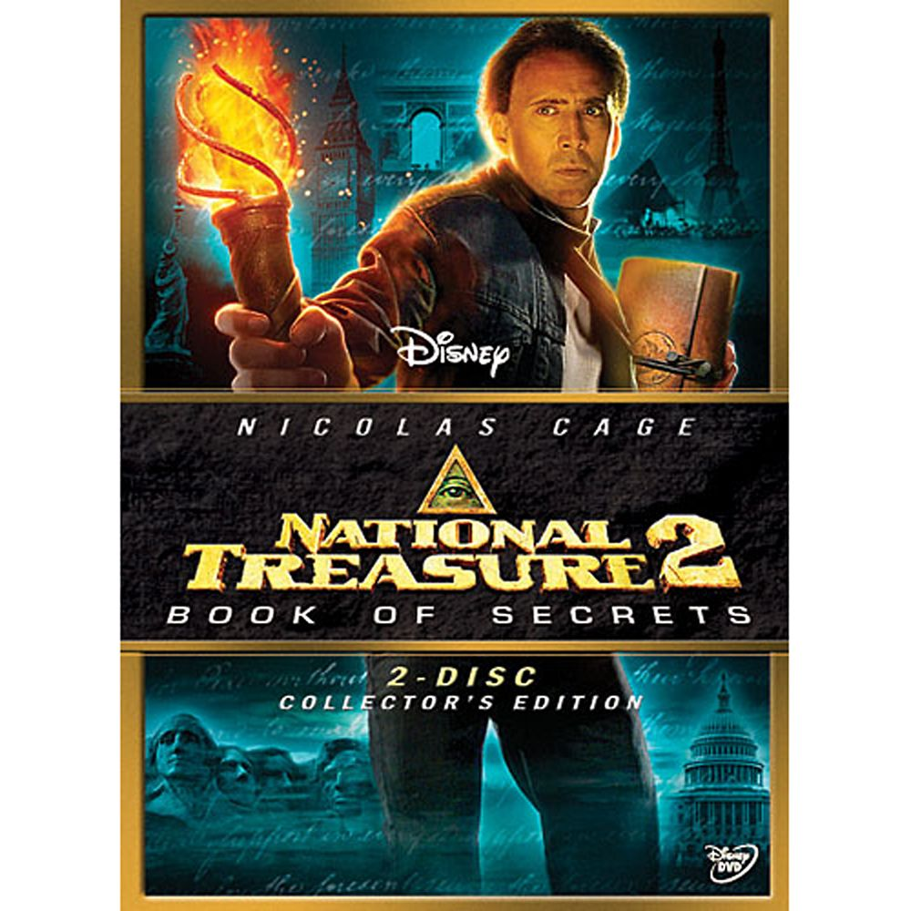 National Treasure 2: Book of Secrets  2-Disc Set Official shopDisney