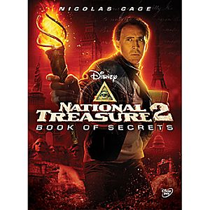 National Treasure 2: Book of Secrets DVD 7745055550386P