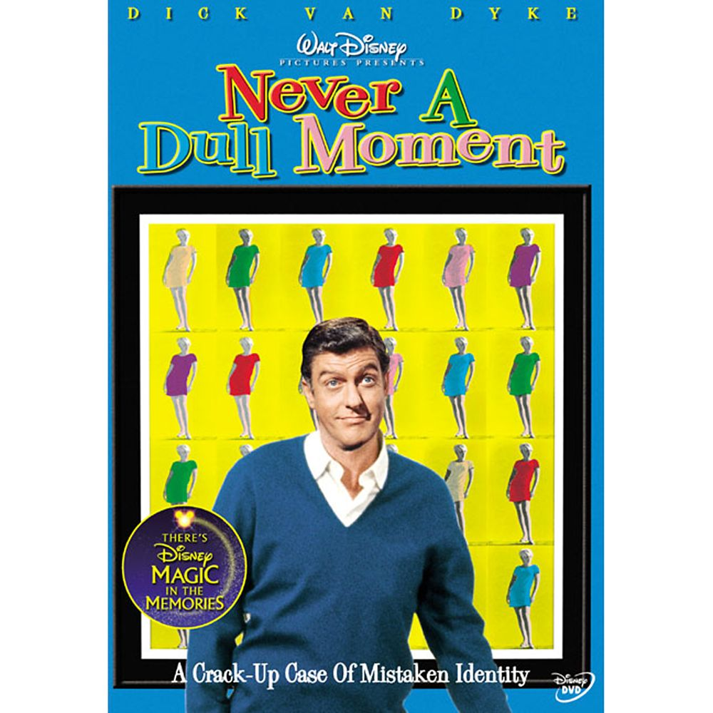 Never a Dull Moment DVD