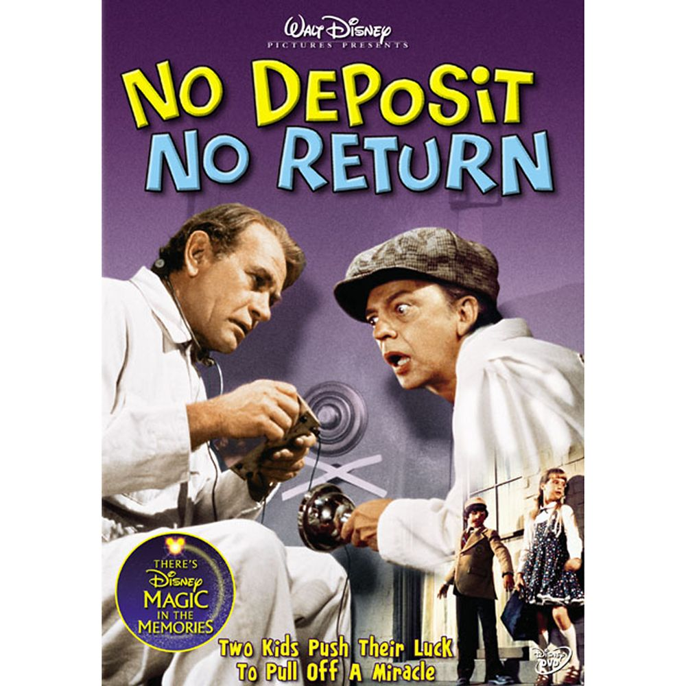 No Deposit No Return DVD