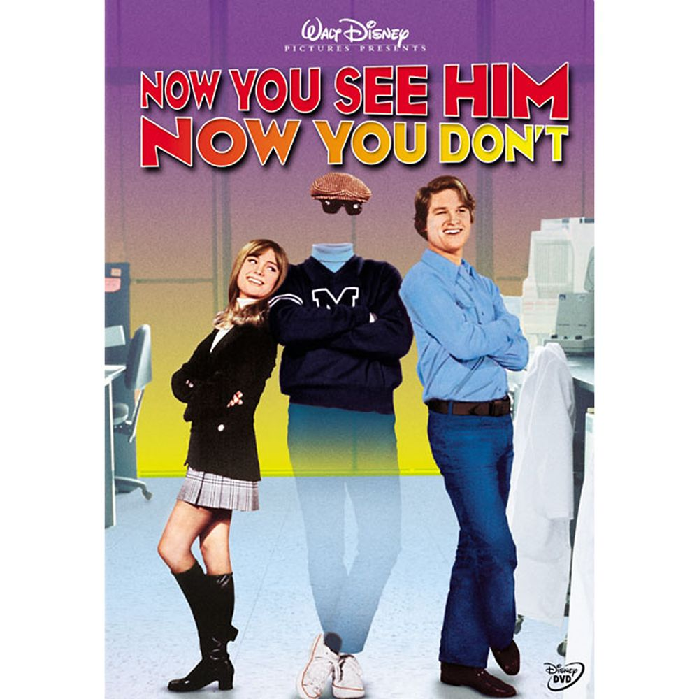 Now You See Him, Now You Don't DVD