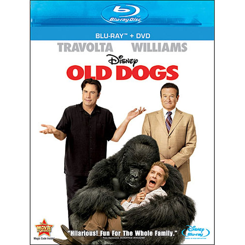 Old Dogs – Blu-ray + DVD Combo Pack