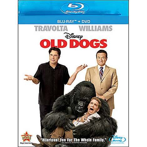 Old Dogs - Blu-ray + DVD Combo Pack