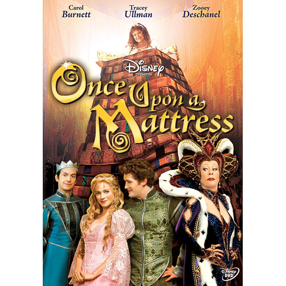 Once Upon a Mattress DVD Official shopDisney