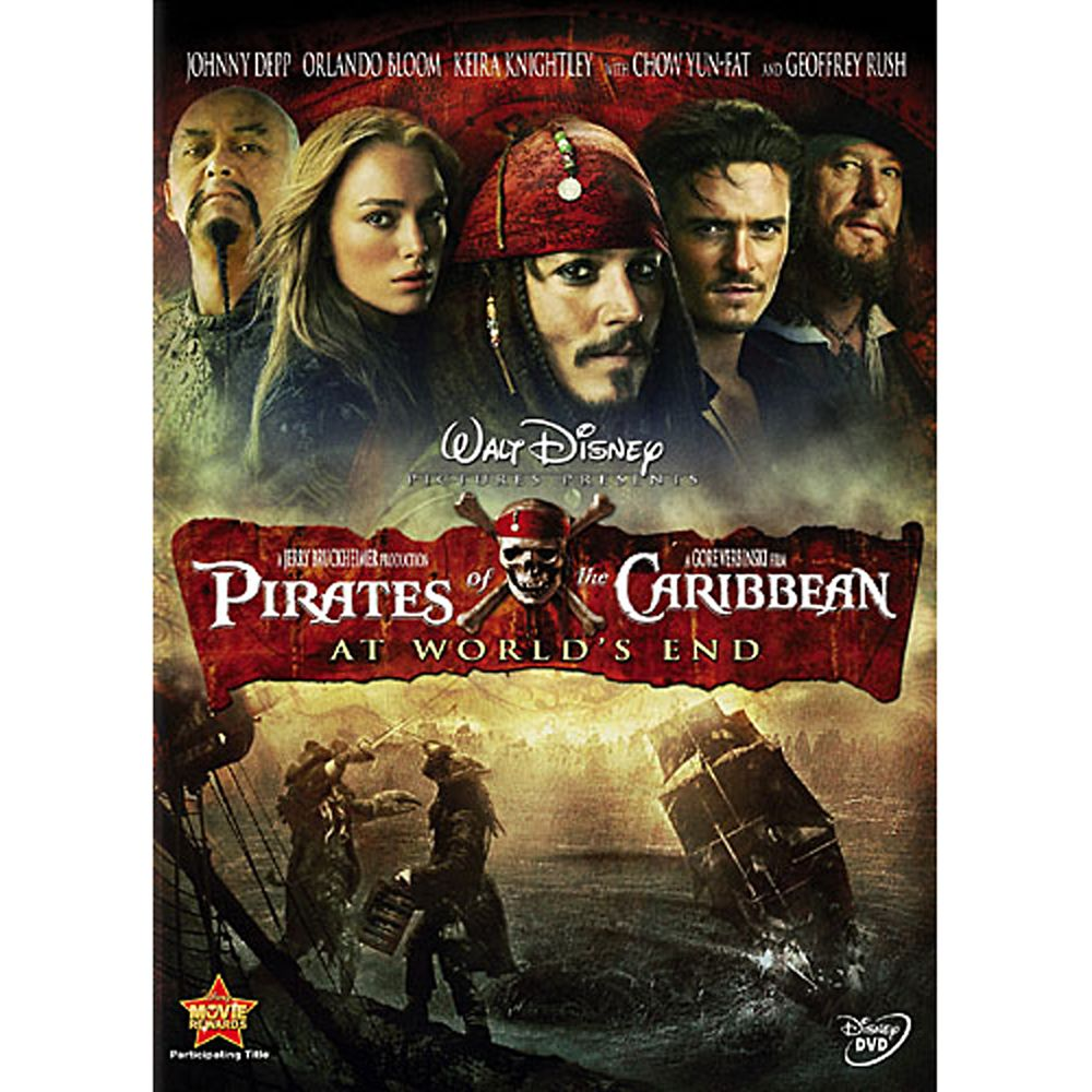 Pirates of the Caribbean: At World's End DVD Official shopDisney