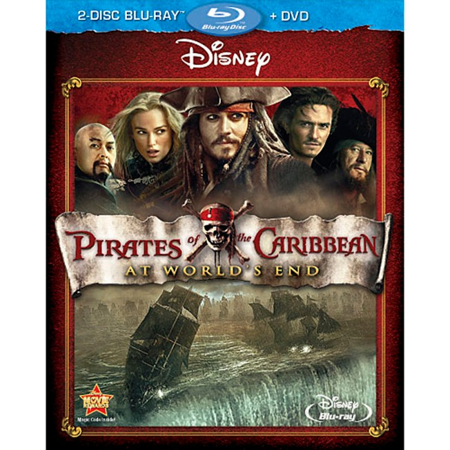Pirates of the Caribbean: At World's End – 2-Disc Blu-Ray + DVD