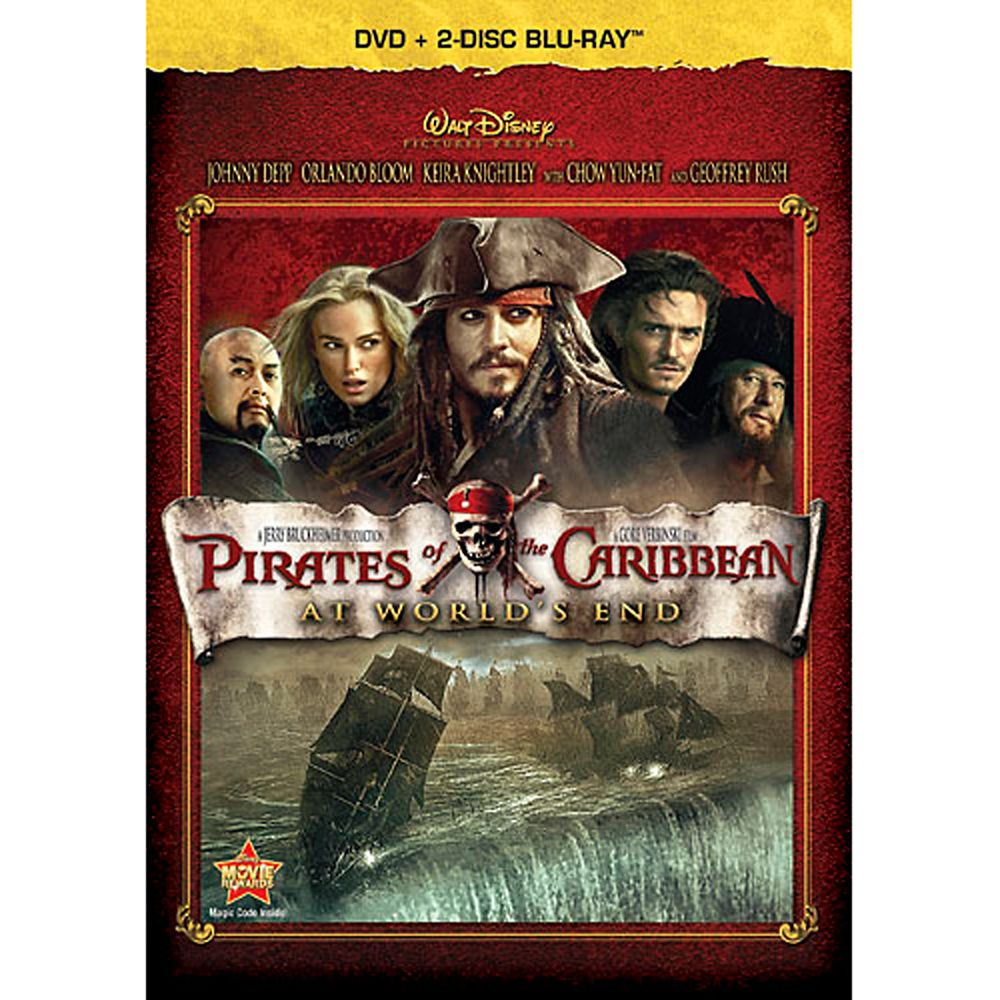 Pirates of the Caribbean: At World's End – Blu-ray + DVD
