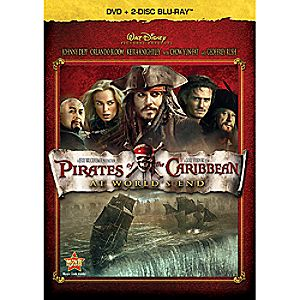 Pirates of the Caribbean: At World's End - Blu-ray + DVD 7745055550410P