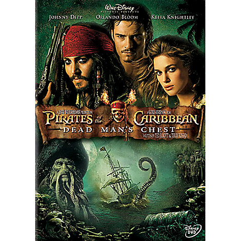 Pirates of the Caribbean: Dead Man's Chest DVD