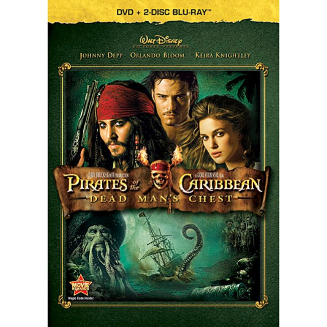 Pirates of the Caribbean: Dead Man's Chest – 3-Disc Set