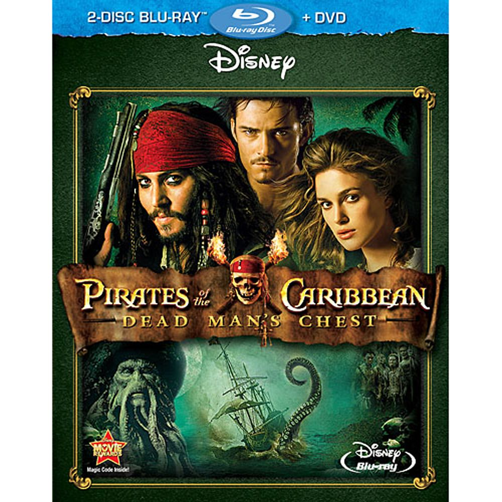 Pirates of the Caribbean: Dead Man's Chest – Blu-ray + DVD 3-Disc Set
